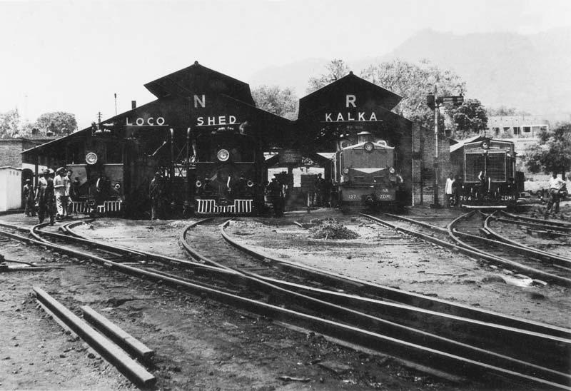 Loco-shed,Kalka